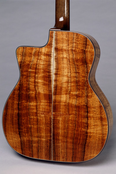 Angelo Debarre Guitar Back