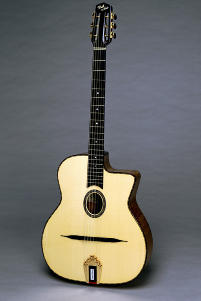 Angelo Debarre Guitar Front